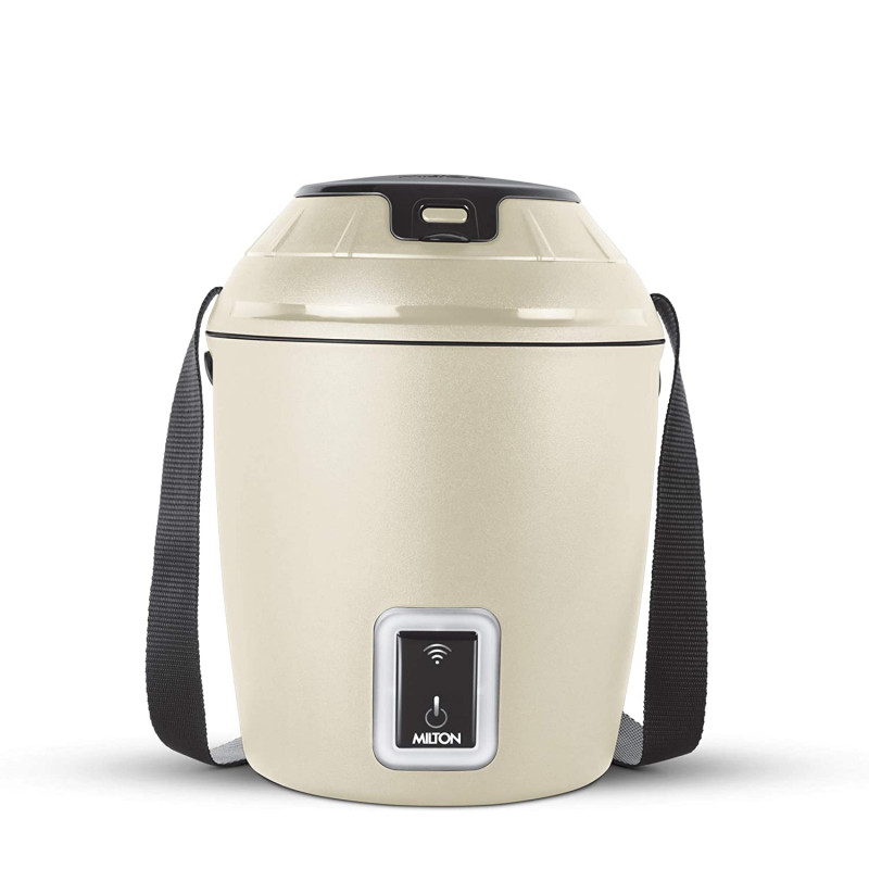 MILTON Smart Electric App Enabled Tiffin Box Beige